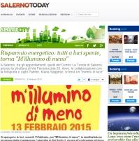 M'illumino di meno 2015 Salerno Today
