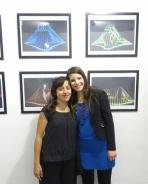 Maria Saggese e la fotografa Michela Fabbrocino