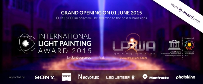 Light Painting Award 2015