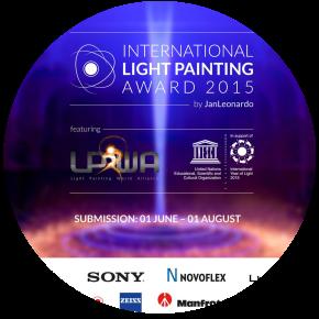 Aperte le iscrizioni all'International Light Painting Award2015