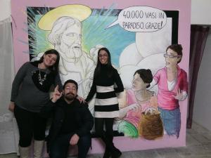 Matilde Liguori, Lucia Palazzo ed Andrea Tabacco