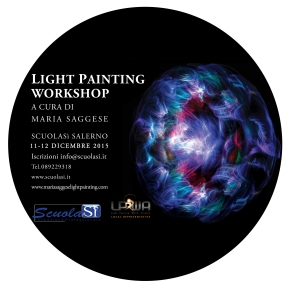 Light Painting Workshop, imparare a dipingere con laluce