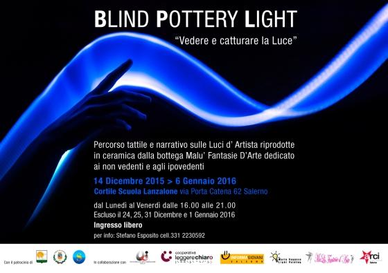 Locandina Blind Pottery Light