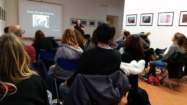 Workshop di Light Painting, Informagiovani Salerno