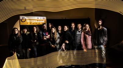 foto di gruppo Workshop fotografico di Light Painting Salerno