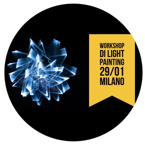 Workshop di Light Painting a Milano by Light Lab